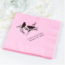 Blush Beverage Napkin