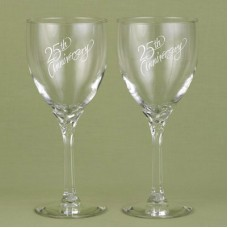 25th  Wine Glasses