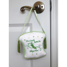 Sweet Pea - Nursery Door Hanger