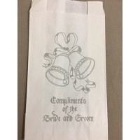 Wedding Cake Bags Bells with Compliments