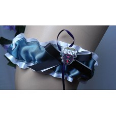 NRL Penrith Panthers Garter with Metal Logo Pin