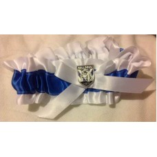 NRL Canterbury Bulldogs Garter with Metal Logo Pin