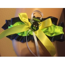 NRL Canberra Raiders Bridal Garter with Metal Logo Pin