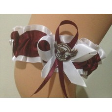 NRL Manly Warringah Sea Eagles Garter with Metal Logo Pin