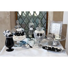 Black & White Lolly Buffet