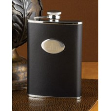 8 oz. Black Flask
