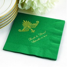 Hunter Beverage Napkin