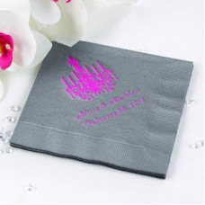 Pewter Beverage Napkin