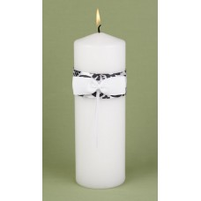 Black Enchanted Unity Candle