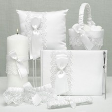Lace Allure Collection traditional guestbook