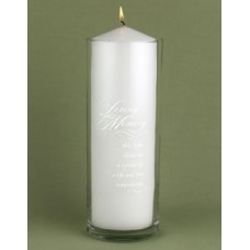 Memorial Cylinder - Personalized