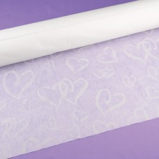 Linked at Heart White Aisle Runner