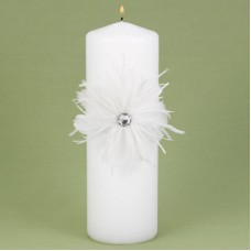 Feathered Flair Unity Candle