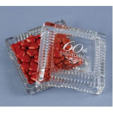 60th  Square Candy Dish