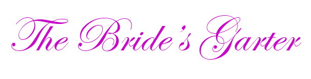 The Brides Garter Wedding Decorations and Accessories